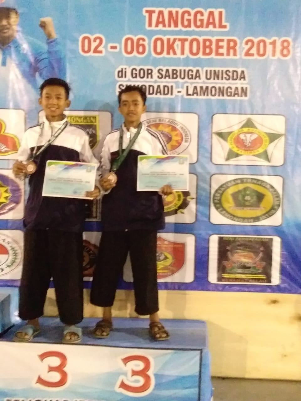 Willy Juara Pencak Silat