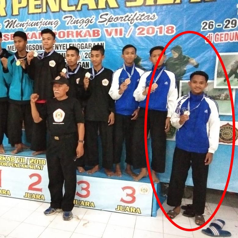 Rafli Juara Pencak Silat Pager Nusa