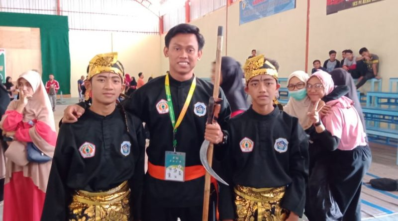 Perwakilan Pagar Nusa Smk Wahas Juara 1 Pencak Silat Ganda Putra