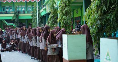 Proses Pemilihan Suara Ketua PK Ipnu Ippnu Smk Wachid Hasjim Maduran Tp 2019/2020