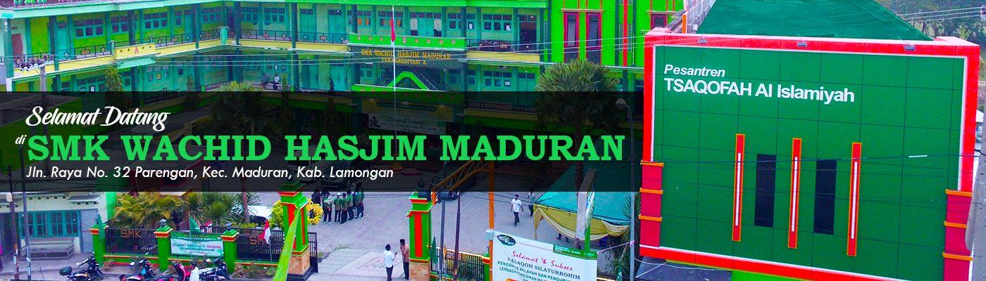 Website SMK Wachid Hasjim Maduran